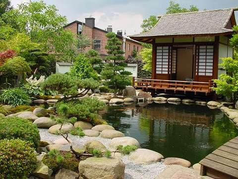 Стиль японского сада