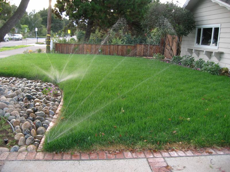 и кустарников.  Подача воды осуществляется различного типа...  Метод дождевательного полива рассчитан в основном на...